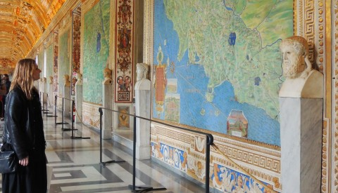 Immerse yourself in the vivid world of the Renaissance in the Vatican's spectacular Hall of Maps