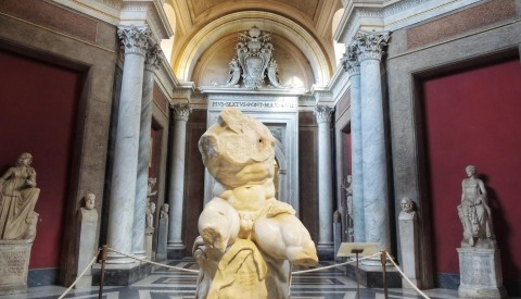Explore the Vatican Museums' ancient sculpture collections without the crowds