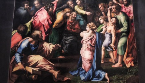 See the masterpieces of the Vatican Picture Gallery, including Raphael's last painting - the Transfiguration