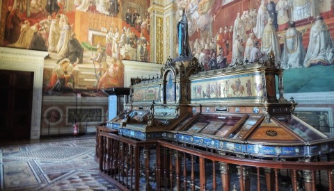 Learn the rich story of faith in the Vatican's magnificent halls