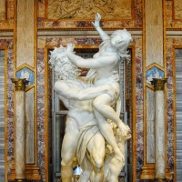 Learn about Bernini's original take on ancient mythology, such as the dark tale of Pluto and Persephone