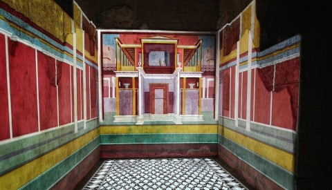 Discover the extraordinary decorations of the house of Augustus, Rome's first emperor