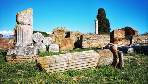 Take a virtual stroll through the incredibly preserved remains of Ostia Antica