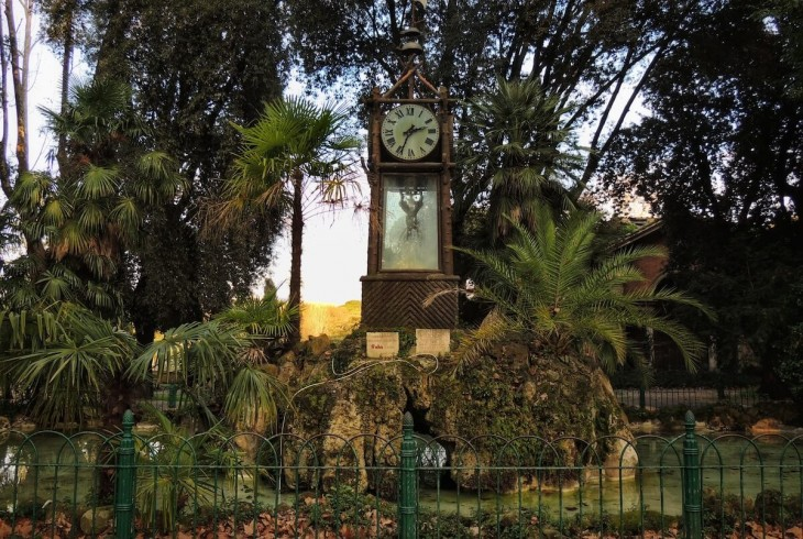 In Search of Roman Time: The Water Clock of Villa Borghese